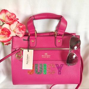 Juicy Couture Rock Candy Satchel Women's